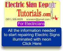 Electric Sign Repair